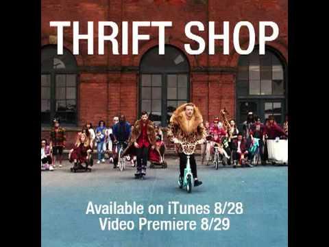macklemore thrift shop hq youtube