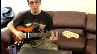 Boogie Shuffle guitar lesson