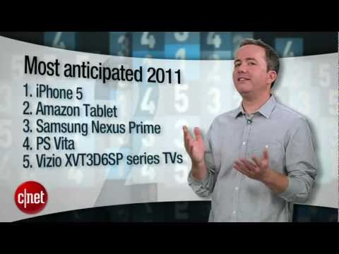 CNET Top 5 - Most anticipated products (2012)