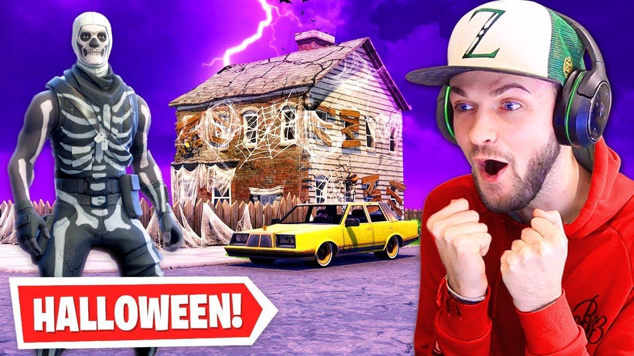 Fortnite's NEW Halloween update...
