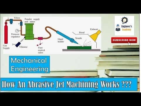 How an Abrasive Jet Machining Works??? ||Engineer's Academy||