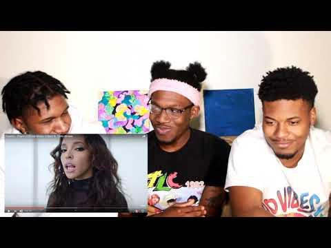 Tinashe - Player ft Chris Brown REACTION