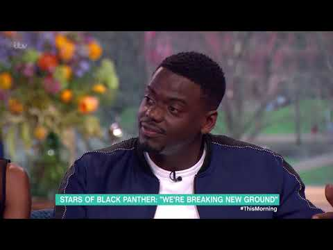 Black Panther Stars Letitia Wright and Daniel Kaluuya Share Acting Advice | This Morning