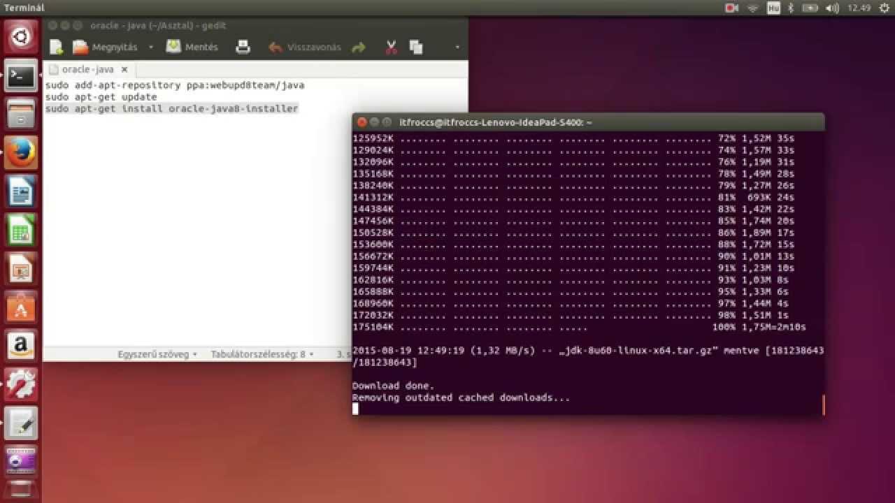 install java ubuntu 16.04 firefox