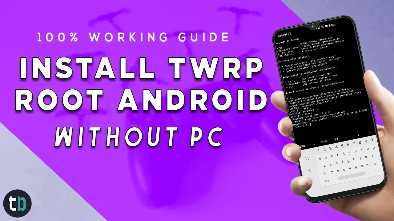 Install TWRP & ROOT Android Without PC | 2020 GUIDE