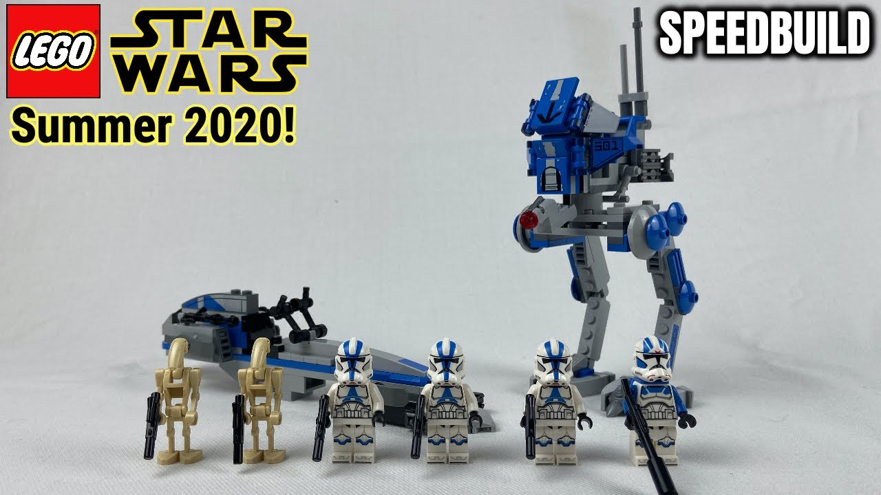 "*Summer 2020* LEGO Star Wars ""501st Legion Clone Troopers"" Speed Build & Review! 