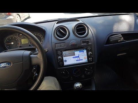 Установка Android Магнитолы в Ford Fiesta Mk6.5 (2006-2008) и камеры заднего хода