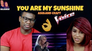 """Ashland Craft- The Voice 2017 Blind Audition: """"You Are My Sunshine""""