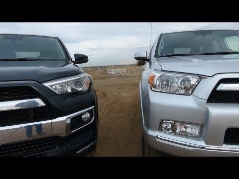2013 Toyota 4Runner vs 2014 4Runner Matchup 0-60 MPH Test & Review