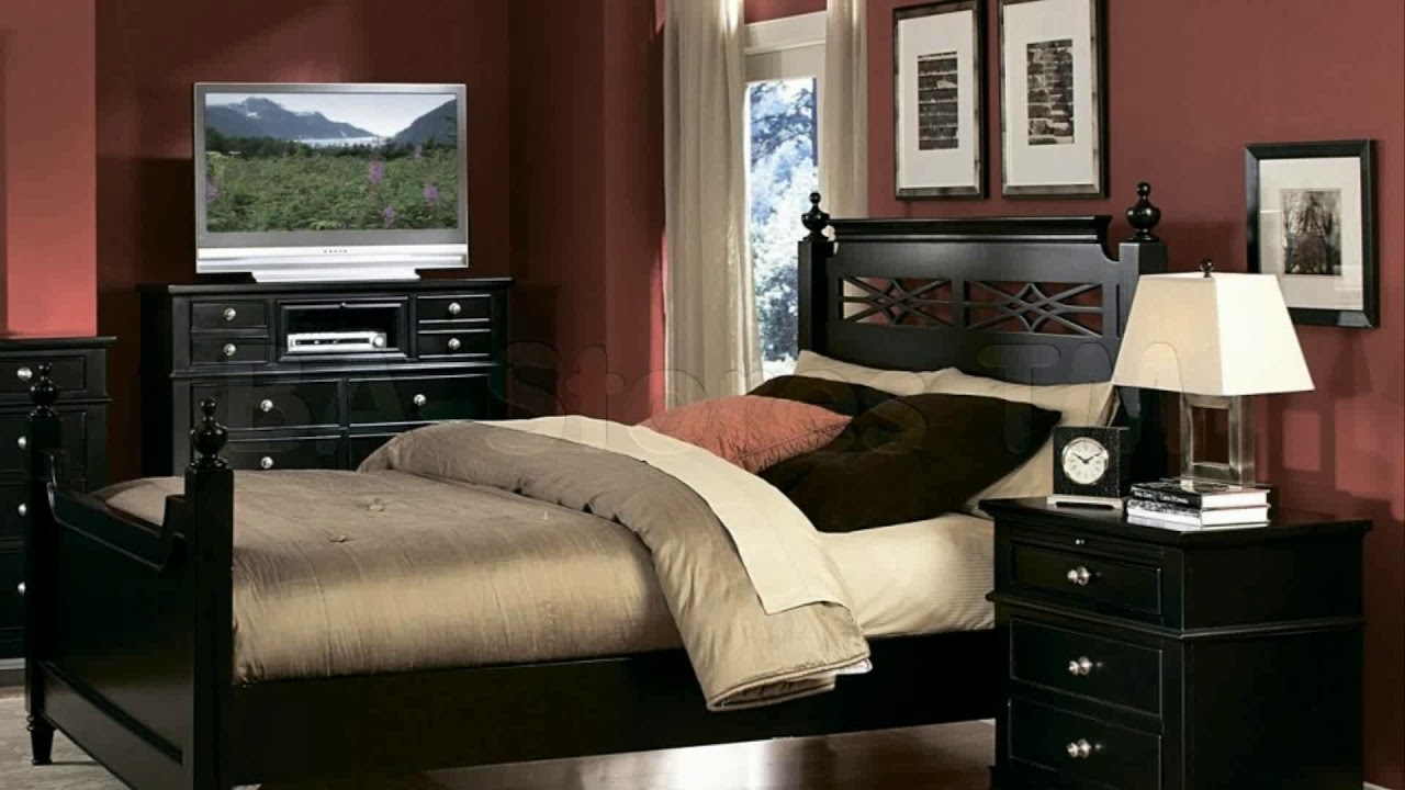 Living Room Paint Color Ideas With Black Furniture Youtube
