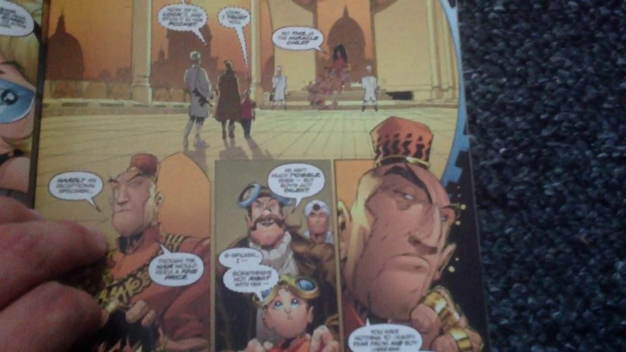 M Rex # 2 Generator Rex comic book pilot comic review final