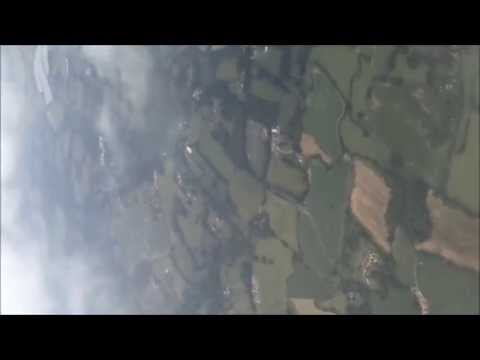 Fly over United Kingdom (Landing in Gatwick Airport)