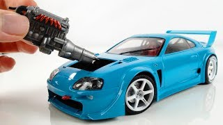 Hypnotic Building of a Perfect Tiny Toyota Supra mk4 Step by Step