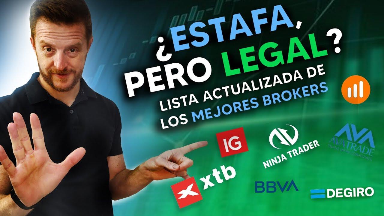 Gua de Brkers Definitiva  Los MEJORES y PEORES BRKERS para TRADING Lo que NADIE te cuenta