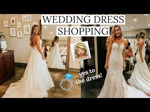 WEDDING DRESS SHOPPING! I said YES to the dress | Essense of Australia