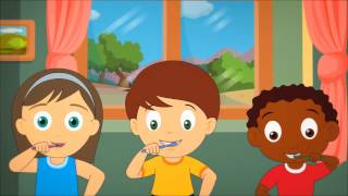 This Is The Way We Brush Our Teeth - Ep 1 Nursery Rhyme