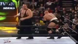 WWE Survivor Series Brock Lesnar vs Big Show Highlights
