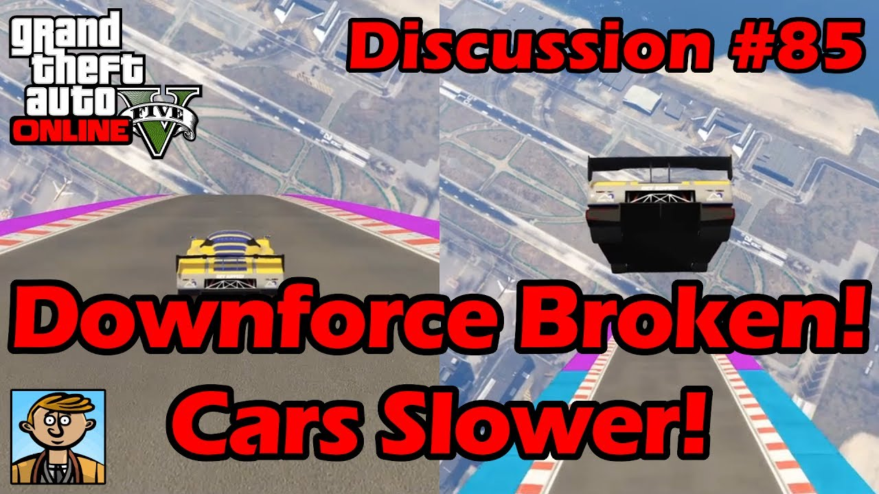 Downforce Broken! RE-7B & Other Cars Much Slower! - GTA Discussion #85