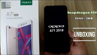 Oppo A71 2018 Unboxing And Review I Hindi