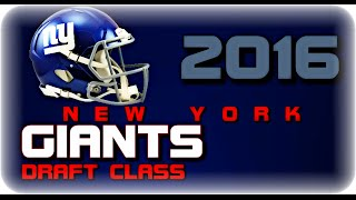 New York Giants 2016 Draft Class