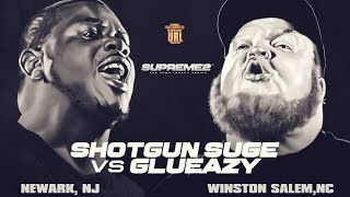 SHOTGUN SUGE VS GLUEAZY SMACK/ URL RAP BATTLE| URLTV