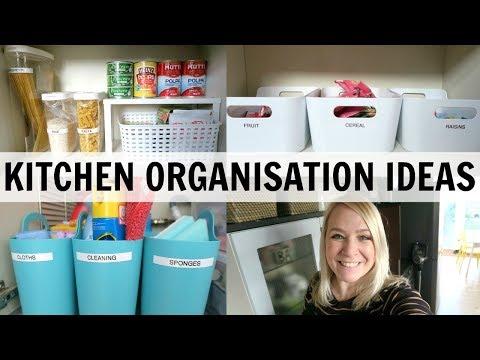 EASY KITCHEN ORGANISATION IDEAS!