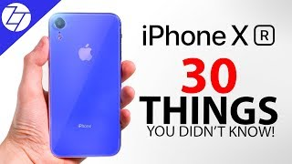 iPhone XR - 30 Things You Didn't Know!