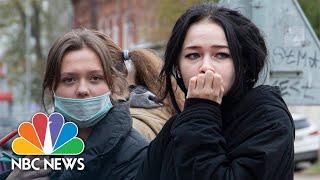 Gunman Kills At Least 8 At Russian University, Authorities Say