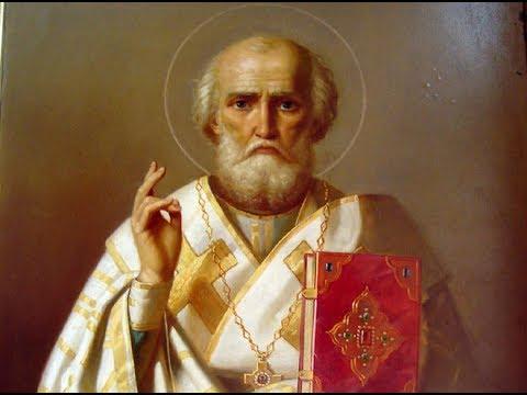 Молебен  с акафистом Святителю Николаю Чудотворцу ( с субтитрами)