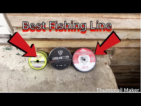 Best Fishing Line For BASS!!!!!!