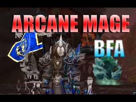 8.2.5 Arcane Mage PvE Guide | Jaxsun | Talents, Rotations, Essences, Stat Guide & More!