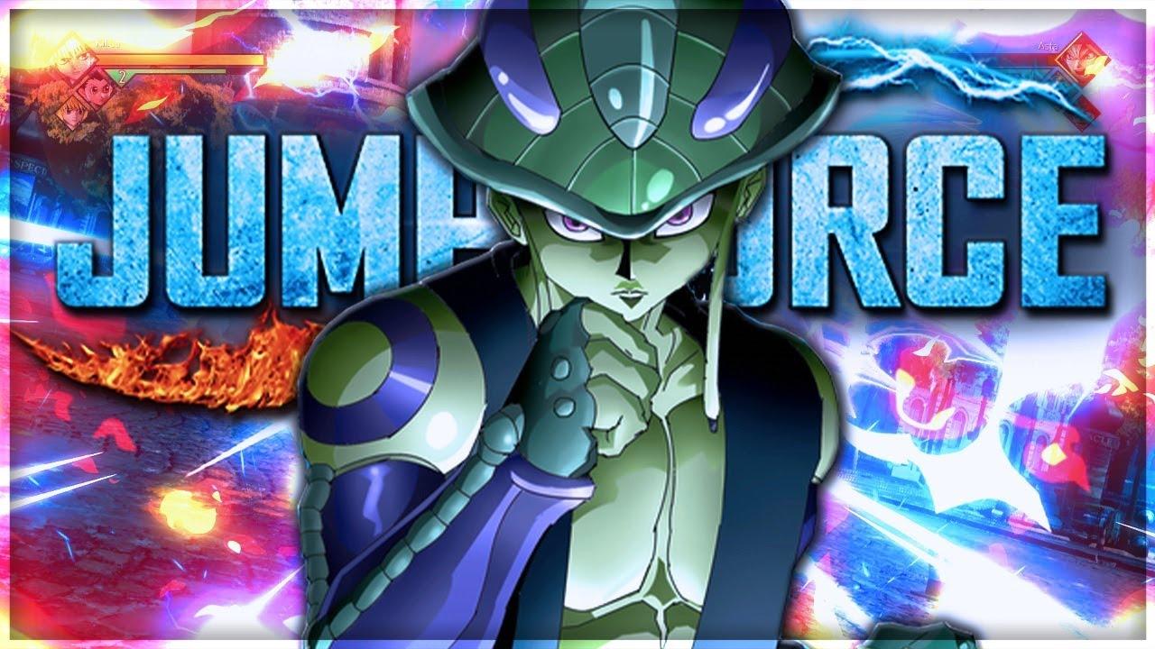 Jump Force DLC Season 2 MERUEM From Hunter X Hunter Special Moves ...