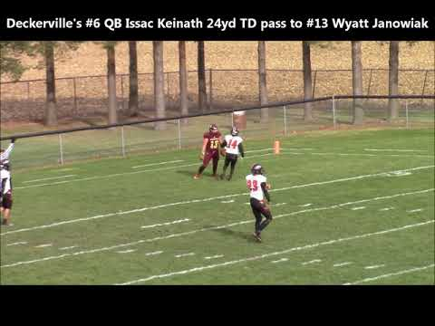 Deckerville vs Bellevue Video Highlights MHSAA HS 8 Player Football Division 1 State Semifinal