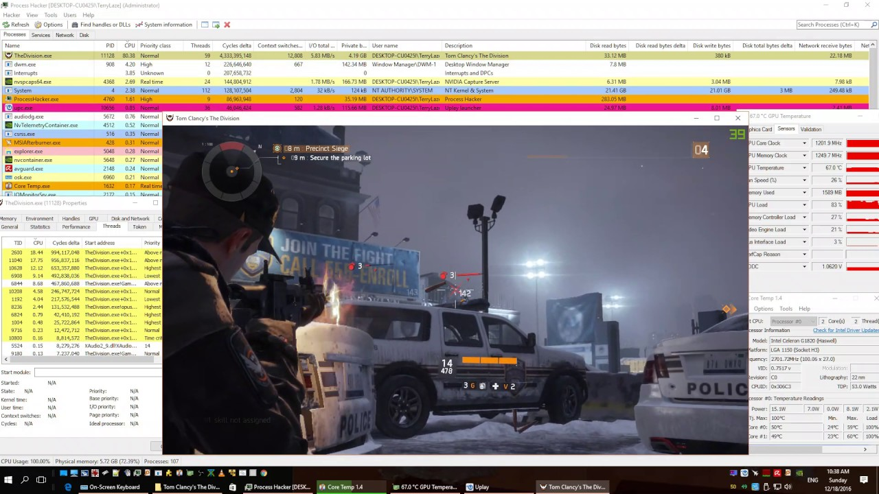 SOLVED] - High Cpu usage in games - Need input   Tom's