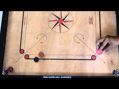 Carrom Shots - Queen and Cover puzzles