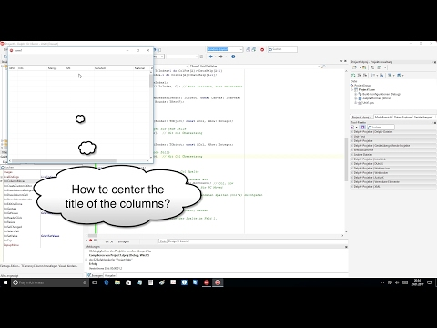 Tutorial: TGrid in business (Delphi DX 10.1 Berlin Up2) on Windows 10 and Android CAT S60
