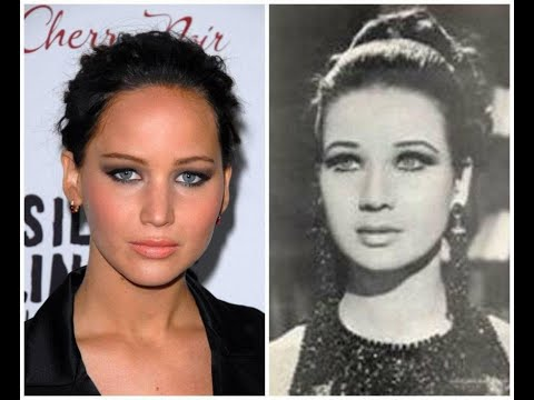 These Hollywood Celebrities Are A Spitting Image Of Famous People From The Past