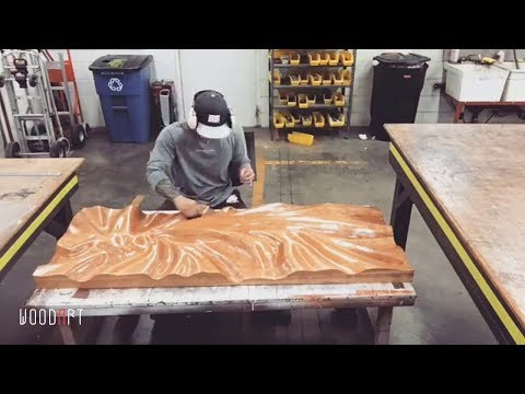 AWESOME Waves out of Wood! Best Woodworking Project You Must See!