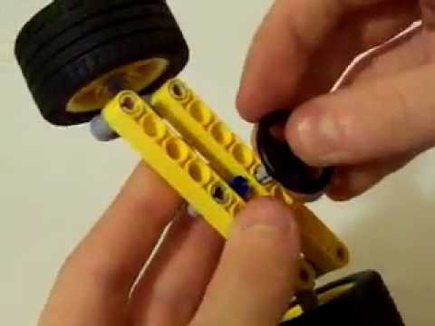 Rack And Pinion >> Simple lego steering system #240pmasterrace - YouTube