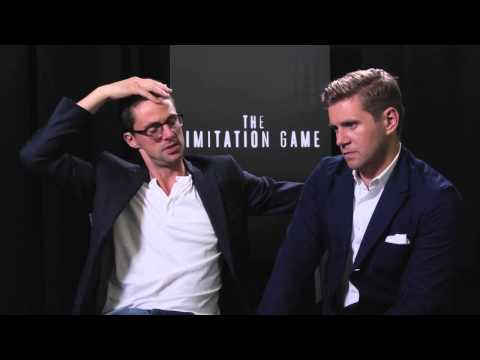 Matthew Goode and Allen Leech interview - The Imitation Game
