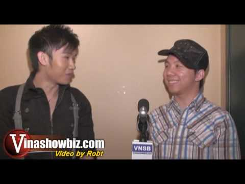 Backstage Interview with Duong Trieu Vu