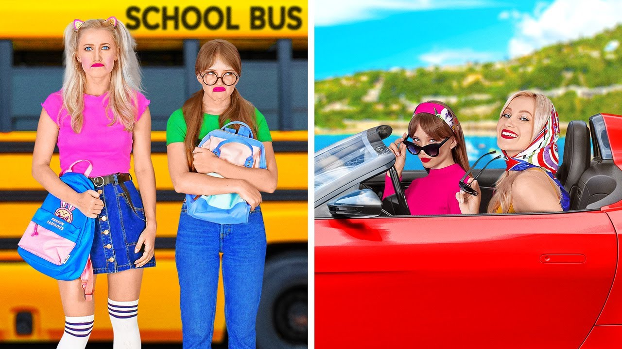 Download CHILD YOU VS HIGH SCHOOL YOU    Funniest Situations At School by 123 GO!