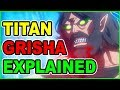 WHY IS EREN'S FATHER A TITAN? TRUTH OF GRISHA EXPLAINED | ATTACK ON TITAN SEASON 3