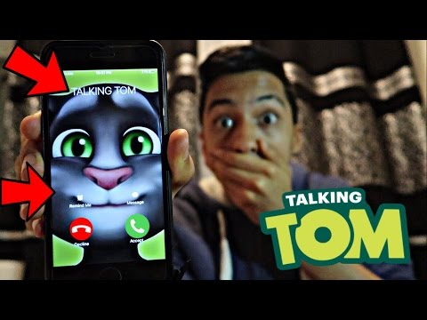 Download TALKING TOM CALLED ME AND I *ANSWERED OMG* Screenshots
