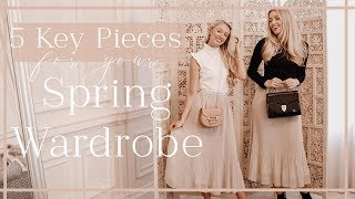 5 KEY PIECES FOR YOUR SPRING WARDROBE // & how to style with Freddy My Love! // Fashion Mumblr
