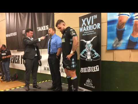 Glasgow v Ospreys Post game talk with Jonathan Humphreys & Jamie Bhatti