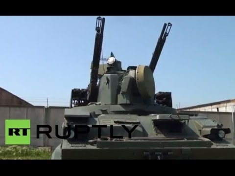 Russia: Air defence crews train to hit simulated targets