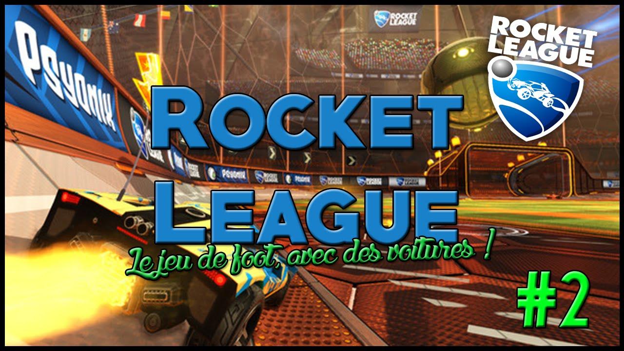 rocket league le jeu de foot avec des voitures 2 youtube. Black Bedroom Furniture Sets. Home Design Ideas