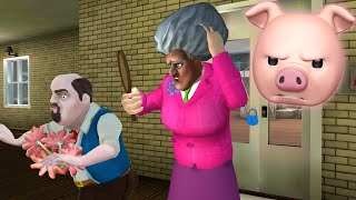 HELLO NEIGHBOR IS RACIST!! | Scary Teacher 3D