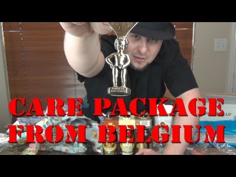 Care Package From Belgium :